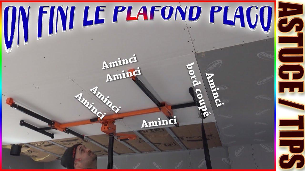 99 Pose Plafond Placo Acoustique Phonique 4pro 4 Bords Amincis Sous Plancher Bois Drywall