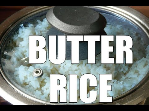 How To Cook Butter Rice At Home New Recipe For Student  | Chef Ricardo Cooking