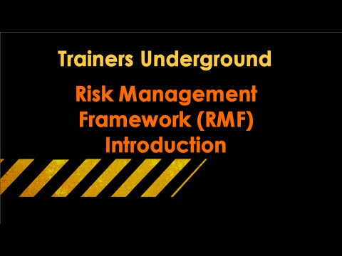 TU Introduction to NIST's Risk Management Framework (RMF)