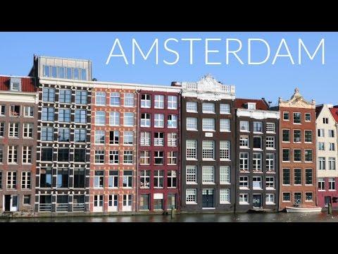 INTER-RAILING VLOG: AMSTERDAM