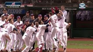 Giambi drills a walk-off homer to center