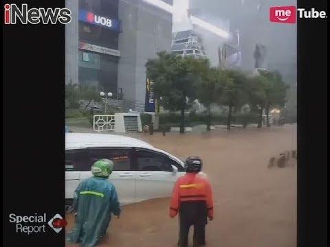 Diguyur Hujan Deras Dengan Petir & Angin, Jakarta Kembali Tergenang Banjir - Special Report 11/12 Mp3