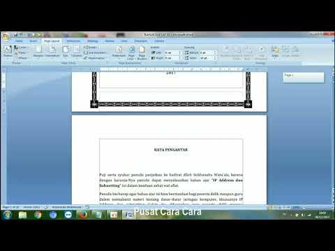 Untuk video yang lebih simpel (durasi lebih pendek) Cara Membuat Nomor Halaman Skripsi....