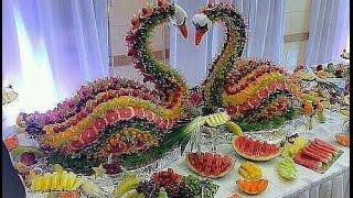 оформление свадебных столы