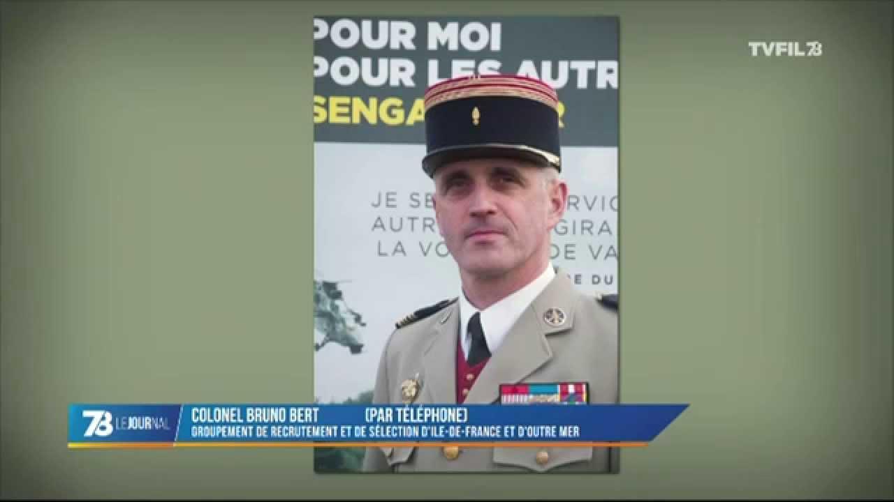 Armée : les inscriptions en hausse après les attentats