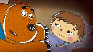 Добрые мультфильмы для детей - Малыши и Летающие звери - Загадки