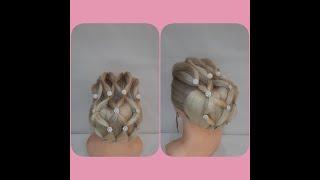 ПРИЧЕСКА на длинные волосы Быстрая и легкая прическа Hairstyle for long hair fast and easy