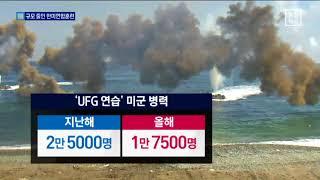 숨죽인 북…규모 줄인 한미연합훈련 thumbnail