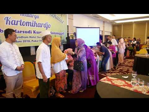 Salam-salaman Halal bihalal 2018 Marsudi Kumoro Manunggal