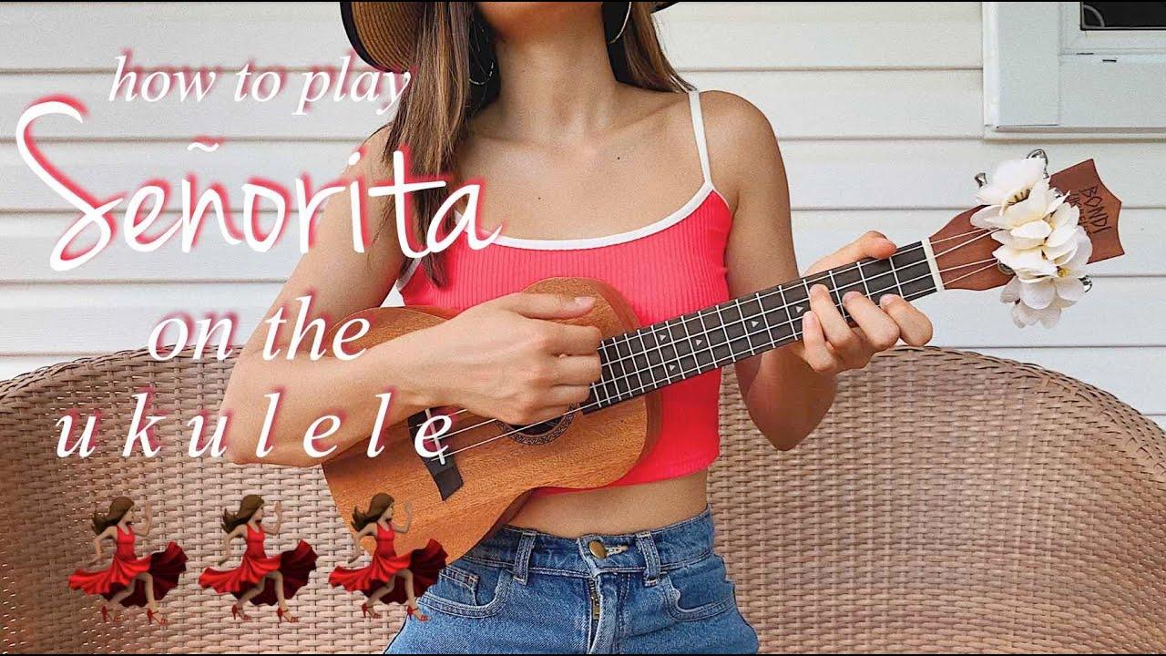 Señorita - Camila Cabello, Shawn Mendes (EASY UKULELE TUTORIAL)
