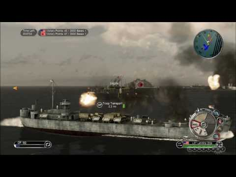 Battlestations: Pacific Video Review By GameSpot