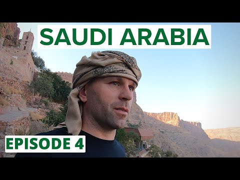 MISSION to TOP of SAUDI ARABIA (zero tourists/best scenery!) 🇸🇦INSIDE SAUDI ARABIA #4