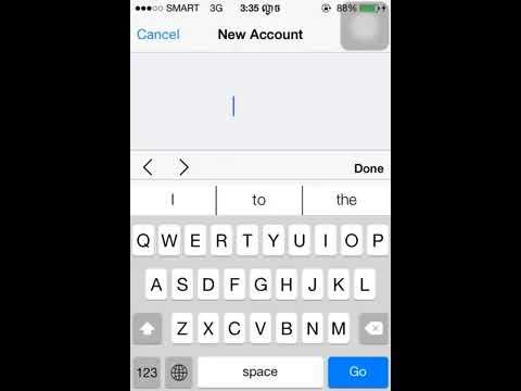 របៀបបង្កើត Apple ID នៅលើiPhone