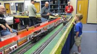 Rocket Launcher Train on the ACSG Washington and Dominion Layout
