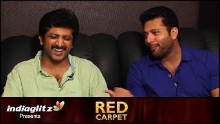 Jayam Ravi & Raja Interview : Thani Oruvan is an original story, not copied or remake | Red Carpet