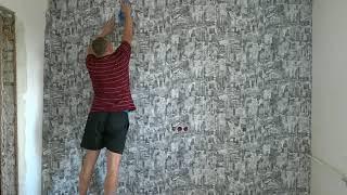 видео Флизелиновые обои для детской комнаты