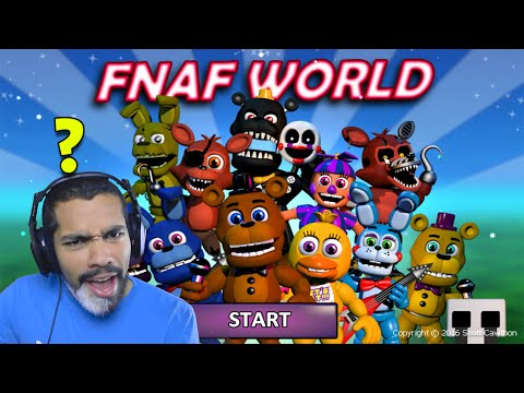 WAIT WTF IS THIS?! | FNAF World #1