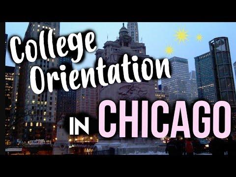 COLLEGE ORIENTATION IN CHICAGO!! + Vlog