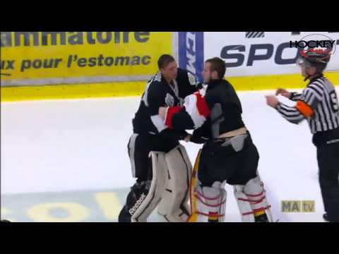 QMJHL Bench-Clearing Brawl: Blainville-Boisbriand Armada Vs Baie-Comeau Drakkar