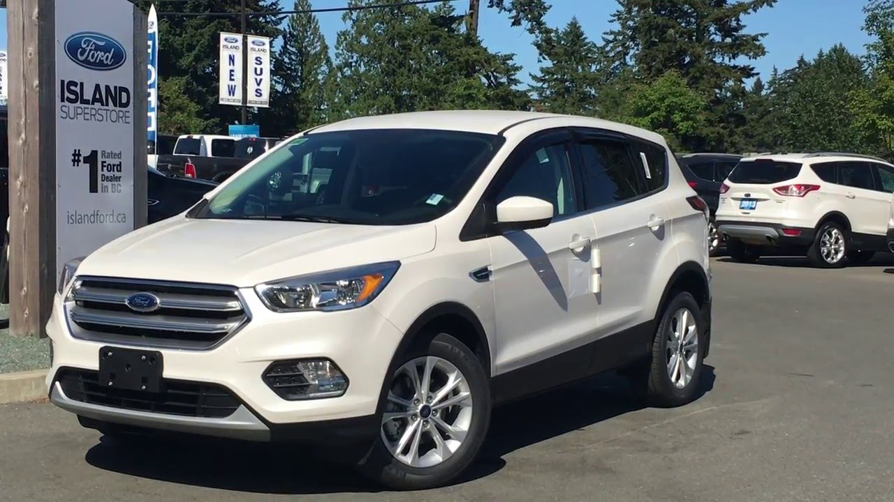 2017 ford escape se ecoboost review island ford youtube