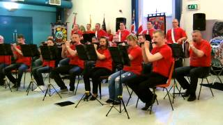 Ardrossan Winton F.B.  @ Blackridge Thistle Culture Weekend 28th March 2014 Part 1
