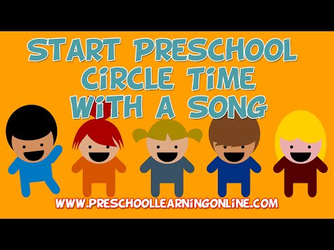 Pre K Circle Time: How To Start Circle Time with a Song