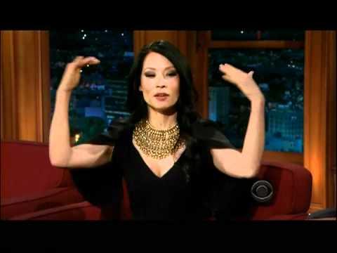 Craig Ferguson 1/16/12Cpt1 Late Late Show Lucy Liu