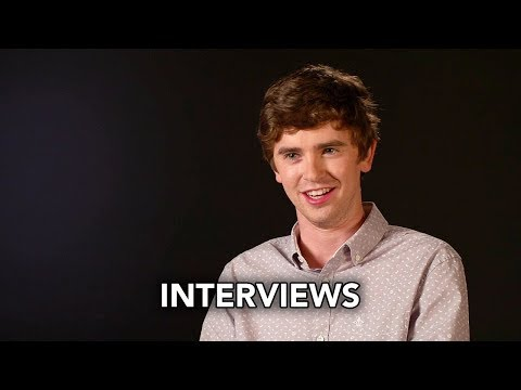 The Good Doctor (ABC) Cast Interviews HD - Freddie Highmore medical drama