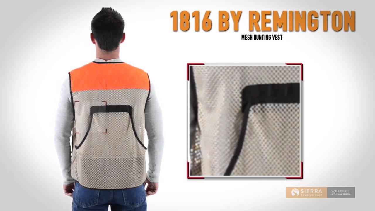1816 by remington mesh hunting vest for men youtube