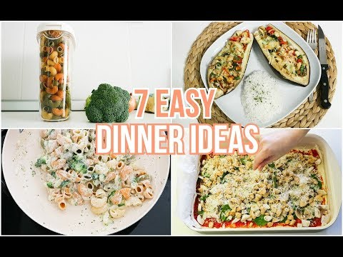 7 EASY WEEKDAY FAMILY DINNER IDEAS | With Less Than 10 Ingredients | Quick Meal Ideas For Busy Moms