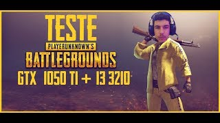gTX 1050 Ti  i3 3210 PUBG DESERT MAP FPS TEST PlayerUnknown's Battlegrounds