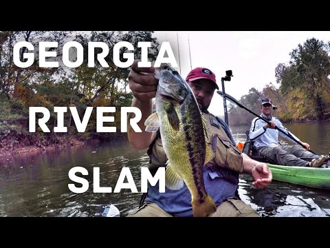 The Georgia River Slam - Bass Fishing - Ft. Andy's Fishing From Australia