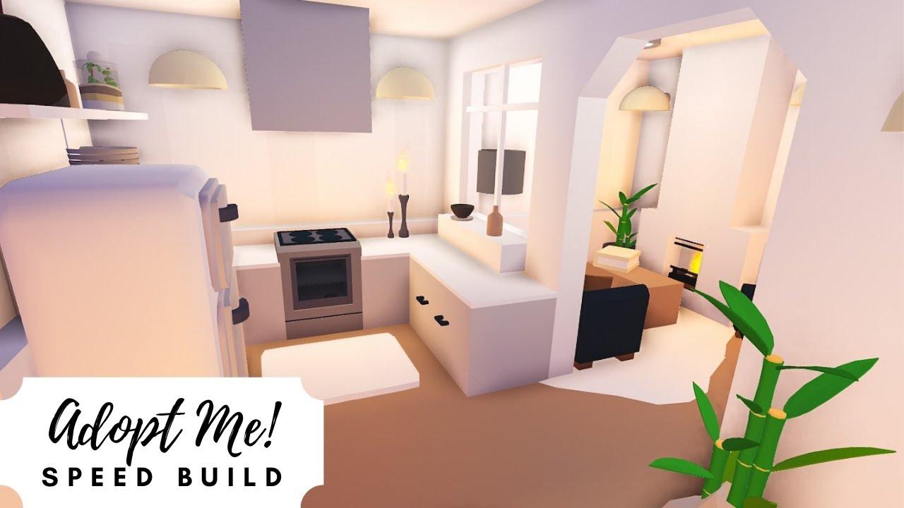 Luxury Paris Style Tiny Home Speed Build Roblox Adopt Me Youtube