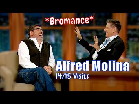 Alfred Molina  Awesome Bromance  1415 Visits In Chronological Order