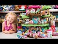 HUGE Li'l Woodzeez Treehouse Surprise Eggs Blind Bags Toy Dolls Toys for Girls Kinder Playtime