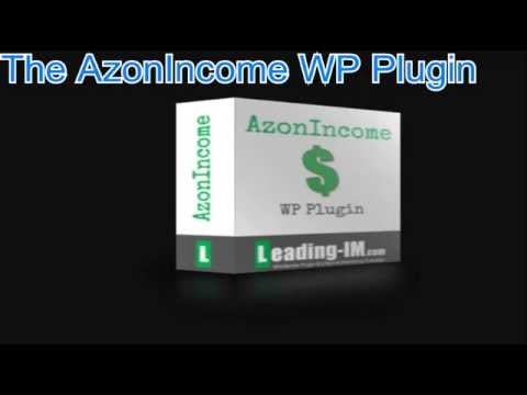 AzonIncome WP Plugin review -Amazon Widget and Shortcode