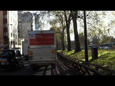 London Streets (454.) - Dorset Square - Marble Arch - Park Lane - Victoria - Lambeth