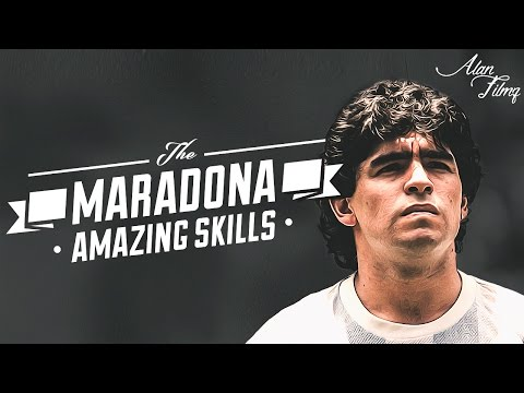 Diego Maradona - Amazing Skills - HQ