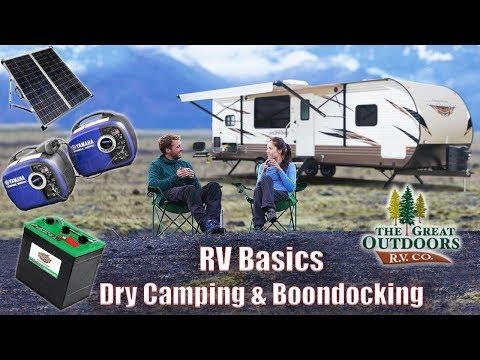 Intro Vid To RV Basics Dry Camping & Boondocking Tips & Tricks Battery Solar Generator Knowledge
