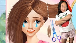 Fun Care Kids Game - Hannah High School Crush - Play Dress Up , Nail Salon, Makeover Games For Girls