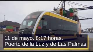 Guaguas Municipales recibe su primer vehículo 100% eléctrico