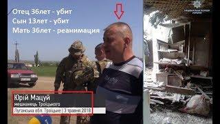 Фронт-Донбасс: Троицкое [Убийство семьи] [18.05.2018]