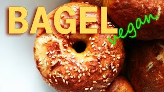 VEGANE BAGEL - SO WIRDS GEMACHT | Vegane Bagel einfach selber machen [Rezept Bagel Vegan] 2014 Thumbnail