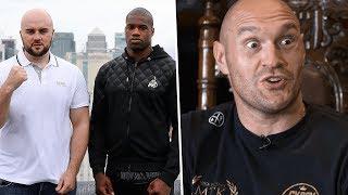 Tyson Fury and Ben Davison break down Daniel Dubois v Nathan Gorman