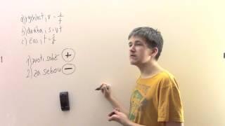 Slovní úlohy o pohybu - za sebou