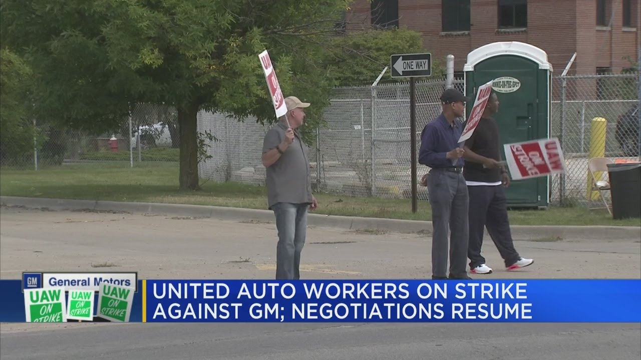 United Auto Workers on strike against GM; negotiations ...