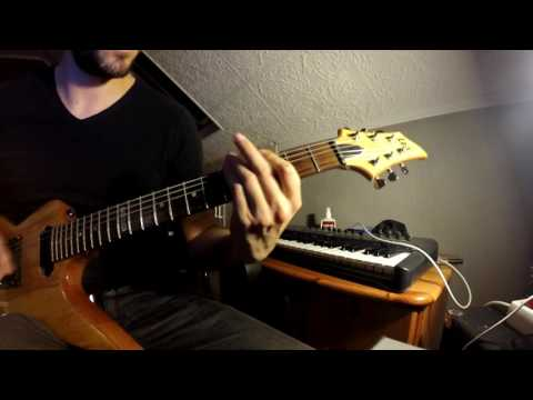 Nickelback - Feed The Machine (guitar cover)