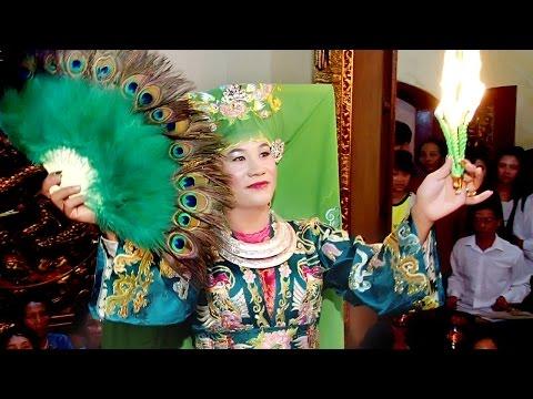 Thanh Đồng : Dương Mạnh Cường Hầu Giá chúa Đệ Nhị Tại Mẫu Hàn