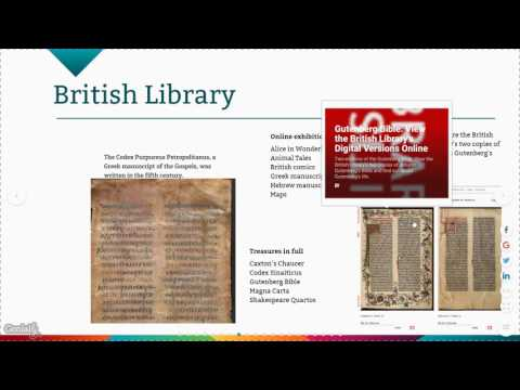 Presentation: Exploring Digital Museums, Libraries and Web Archives