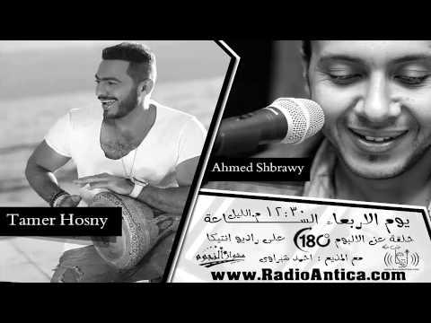 حلقة خاصه عن النجم تامر حسني وألبوم 180 درجة